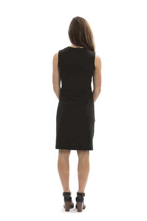 Brooklyn Dress Black DRESSES Katherine Way Collections