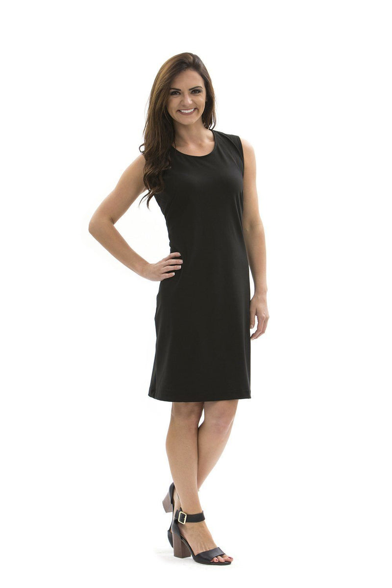 Brooklyn Dress Black DRESSES Katherine Way Collections Black XS