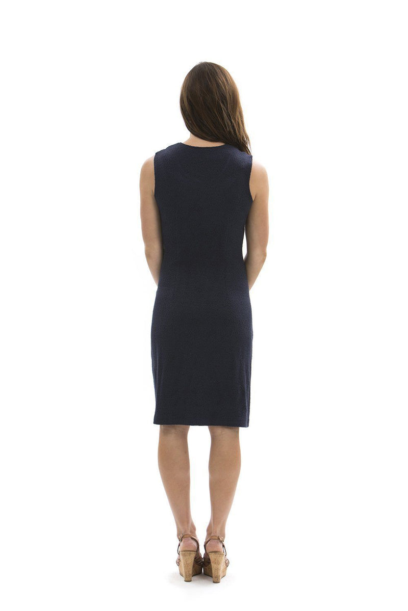 Brooklyn Dress Navy DRESSES Katherine Way Collections