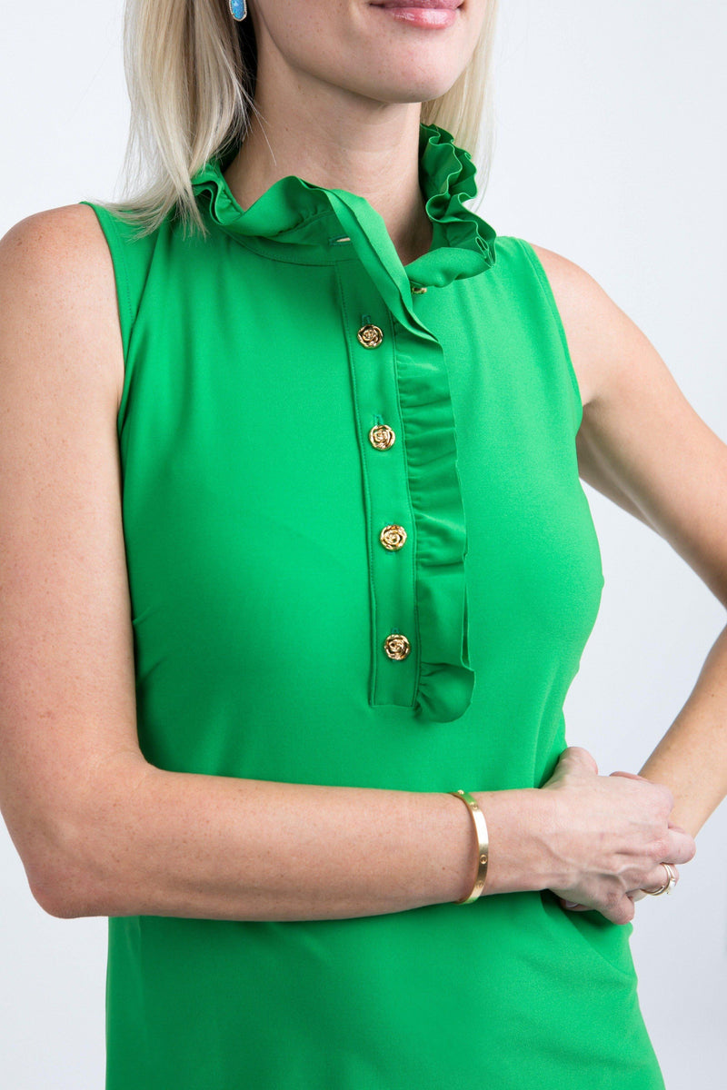 Campeche Dress Green DRESSES Katherine Way Collections