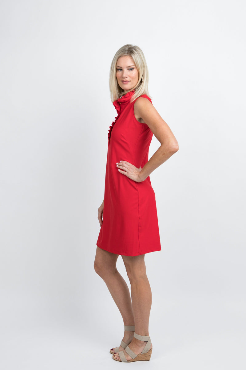 Campeche Dress Red DRESSES Katherine Way Collections