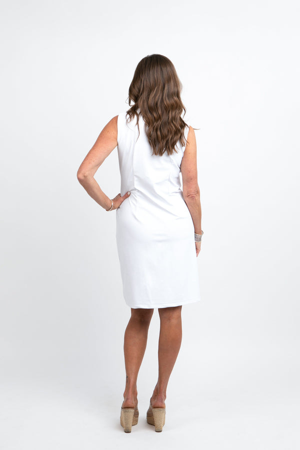 Campeche Dress White DRESSES Katherine Way Collections
