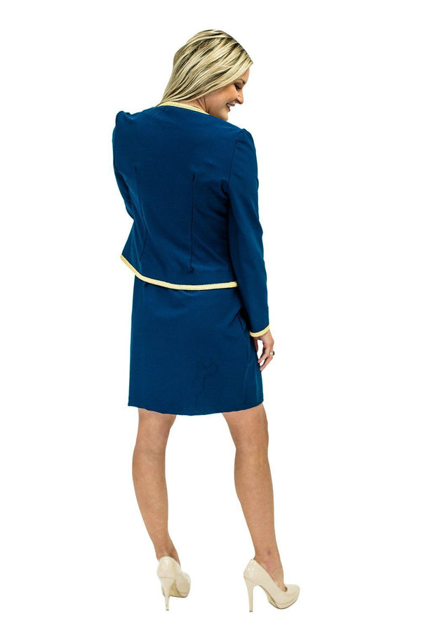 Chelsea Jacket Navy TOPS Katherine Way Collections