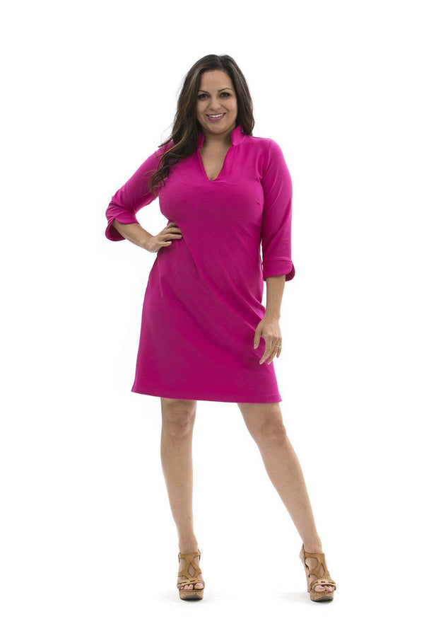 COCO DRESS HOT PINK DRESSES KATHERINE WAY