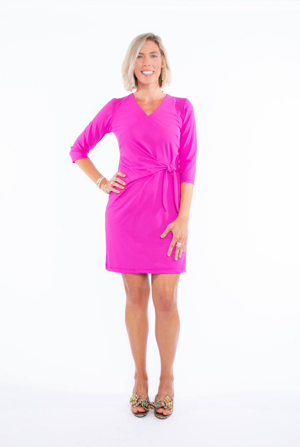 CORONADO DRESS FUCHSIA DRESSES KATHERINE WAY