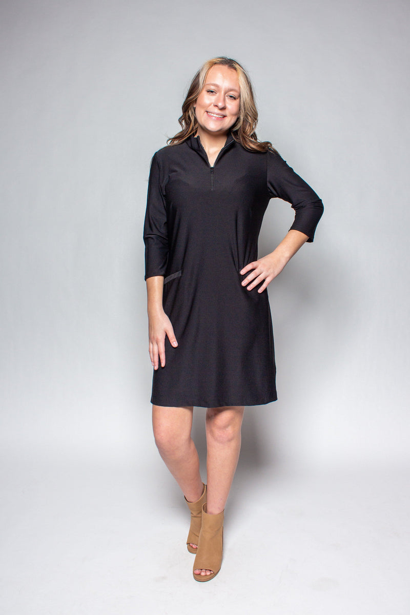 DORAL DRESS BLACK DRESSES KATHERINE WAY