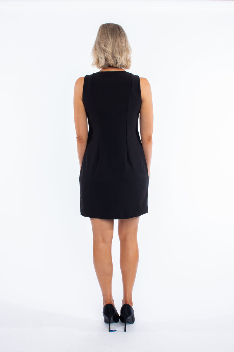 FOLLY DRESS BLACK DRESSES KATHERINE WAY