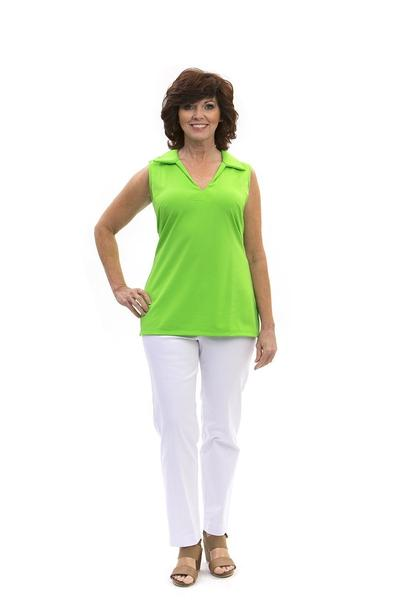 Hatteras Tunic Lime TOPS Katherine Way Collections Lime XS
