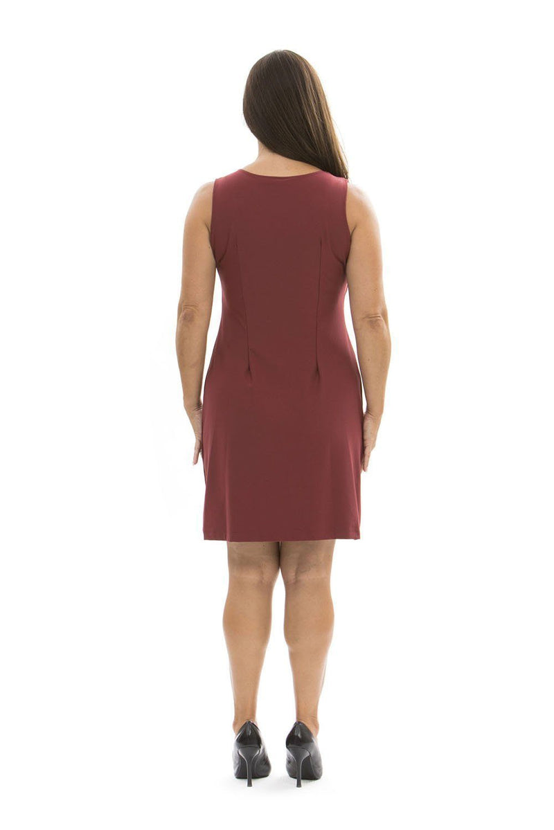 Jackie Dress Ruby Wine DRESSES Katherine Way Collections