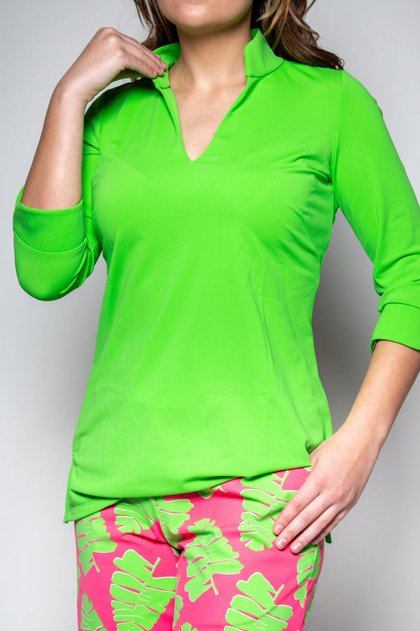 LARGO TUNIC LIME TOPS KATHERINE WAY