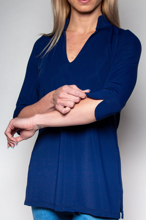 LARGO TUNIC NAVY TOPS KATHERINE WAY
