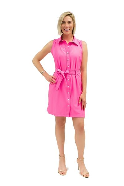 Napa Dress Guava DRESSES Katherine Way Collections Guava XS