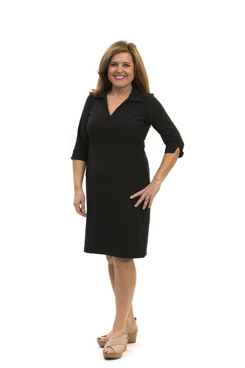 Nola Dress Black DRESSES Katherine Way Collections Black XS