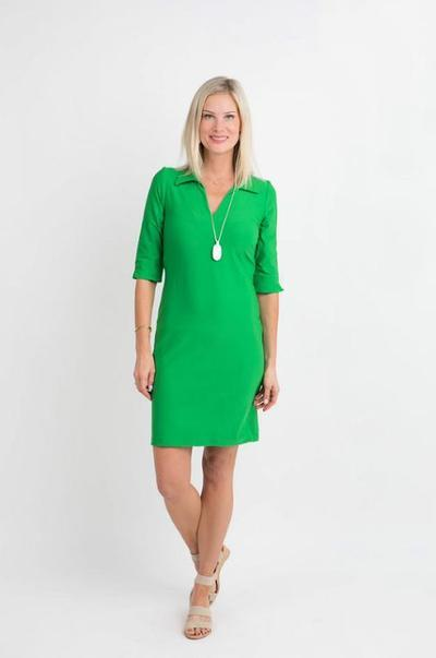 Nola Dress Green DRESSES Katherine Way Collections Green XS