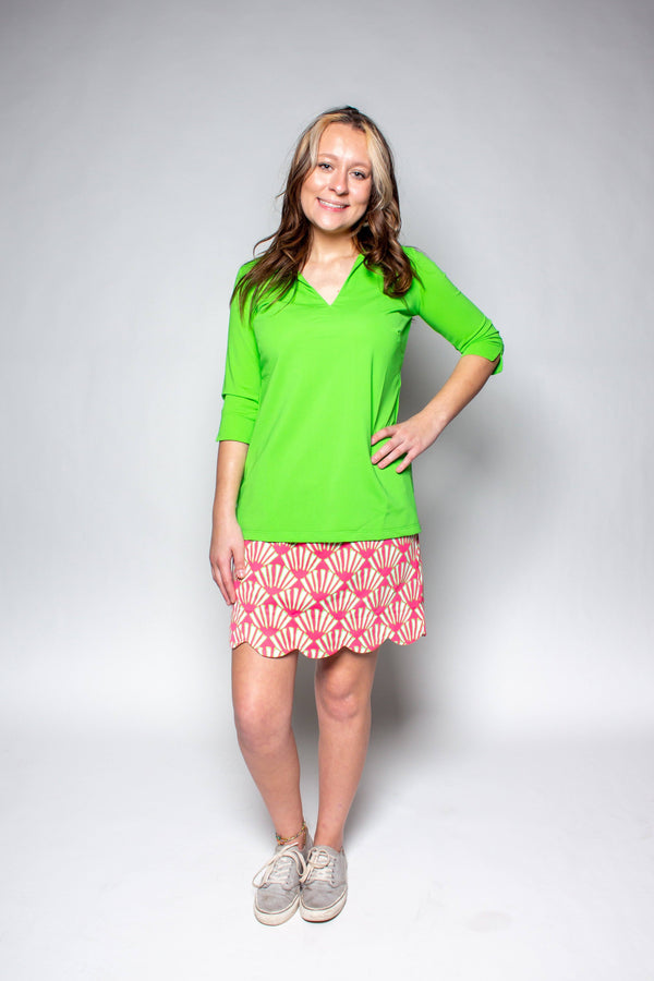 NOLA TUNIC LIME TOPS KATHERINE WAY