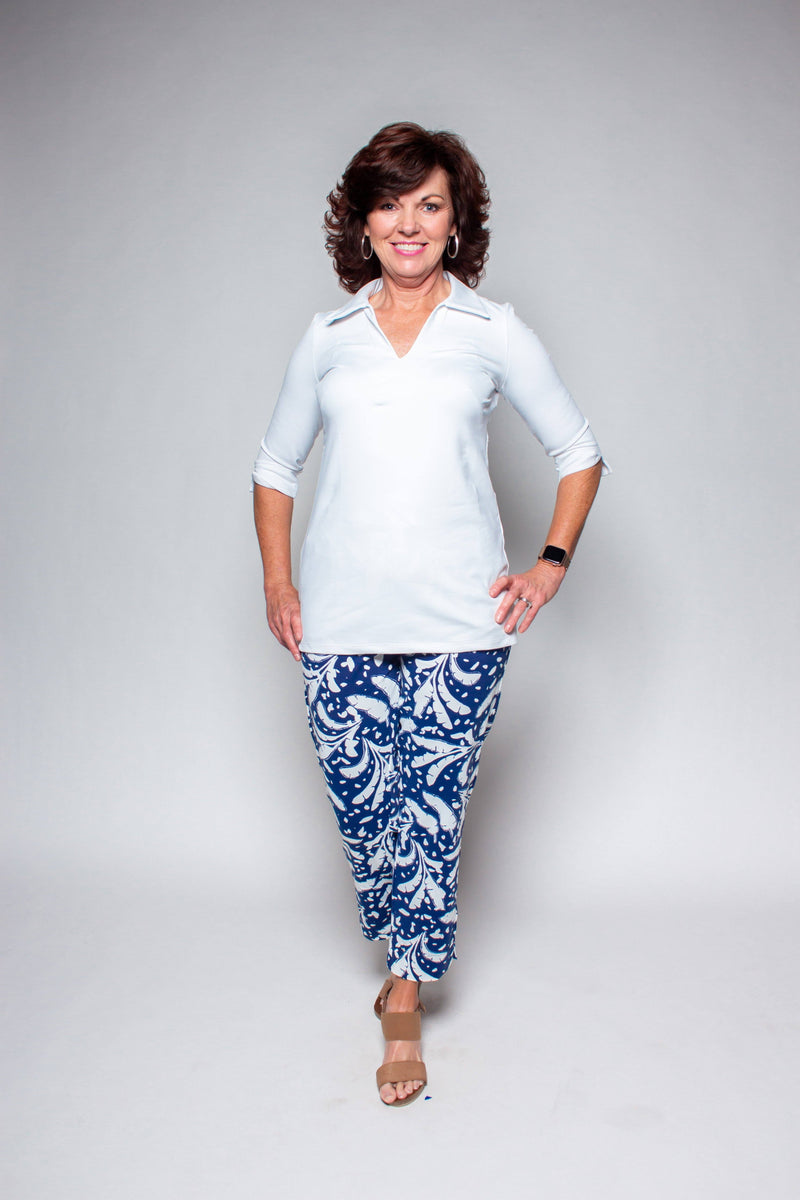 NOLA TUNIC WHITE TOPS KATHERINE WAY