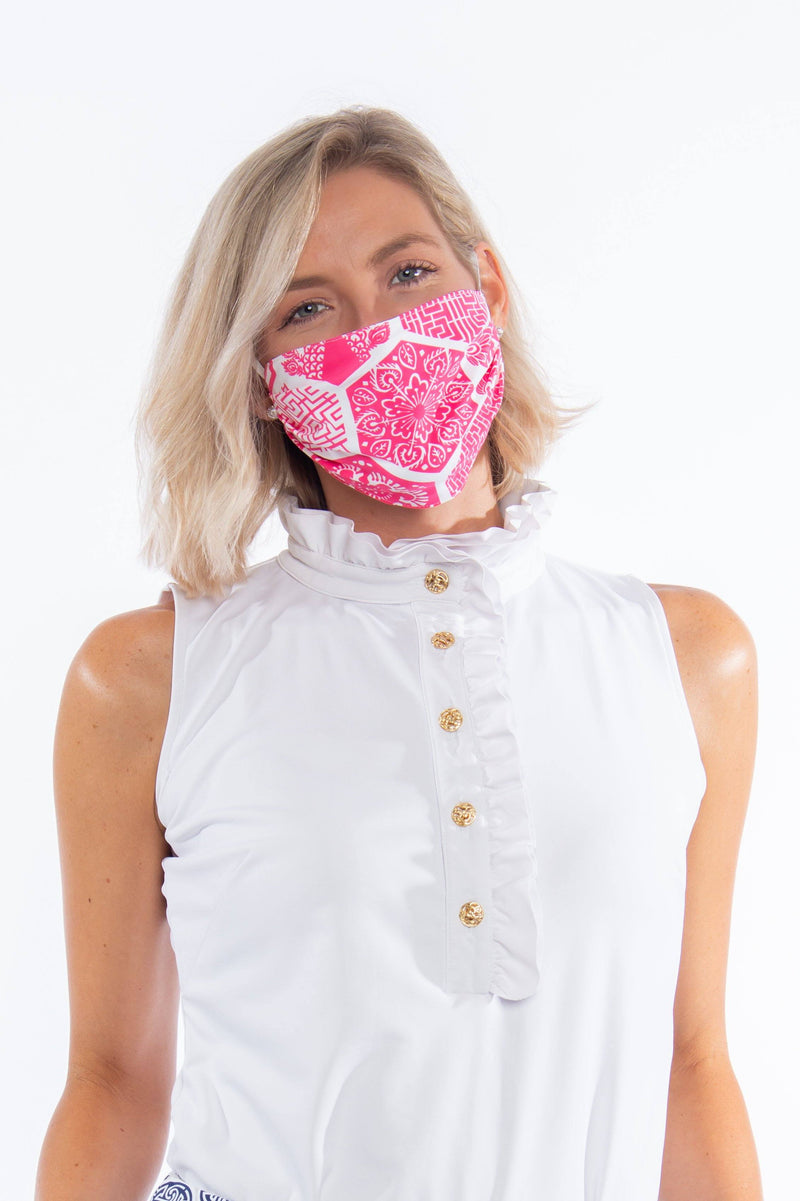 PROTECTIVE FACE MASK CHINESE PAPER PINK PPE KATHERINE WAY