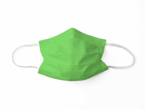PROTECTIVE FACE MASK LIME PPE KATHERINE WAY