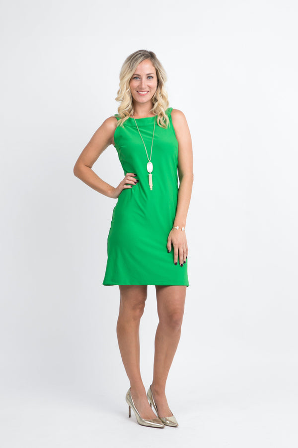 Seaside Dress Green DRESSES Katherine Way Collections Green XS