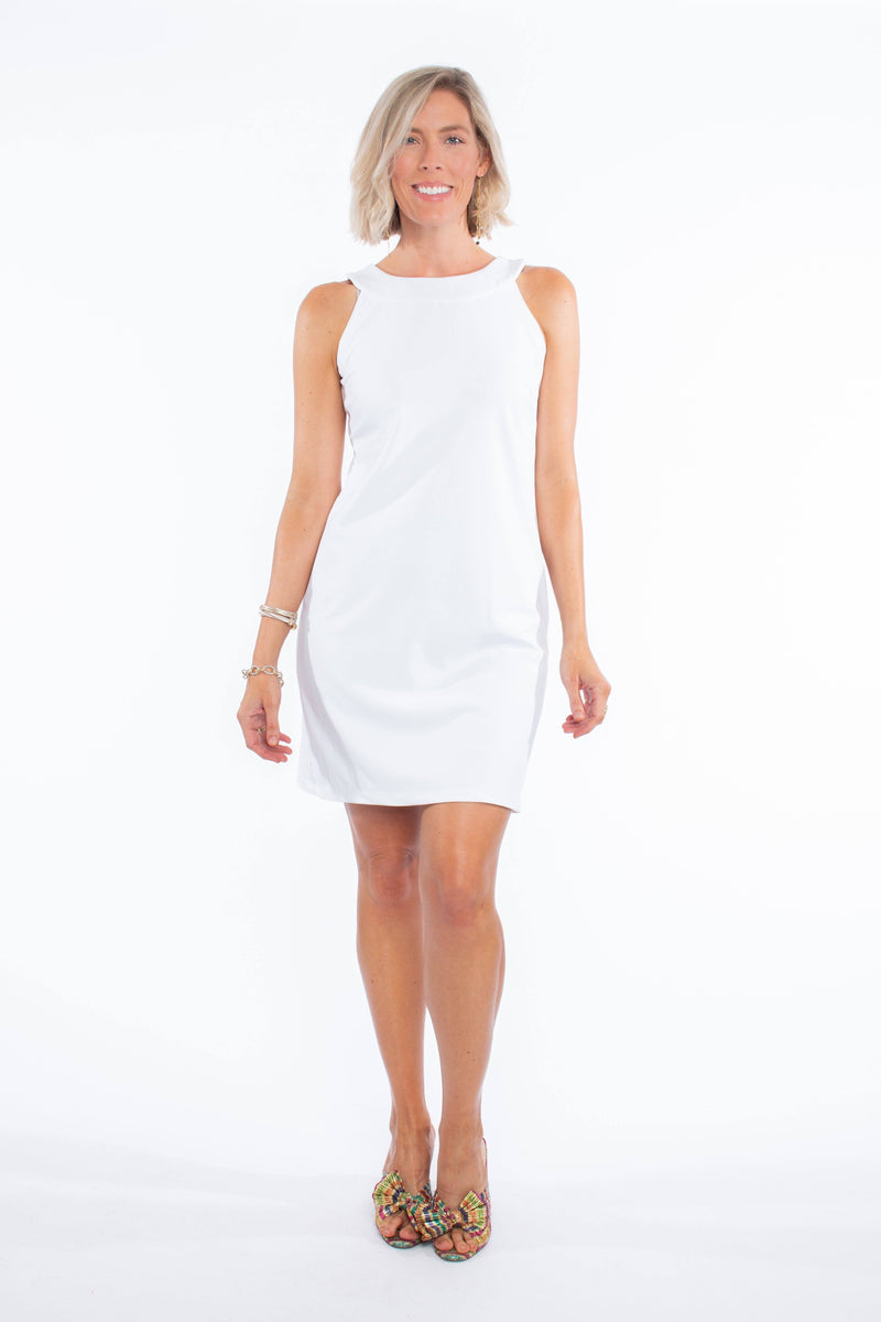 SEASIDE DRESS WHITE DRESSES KATHERINE WAY