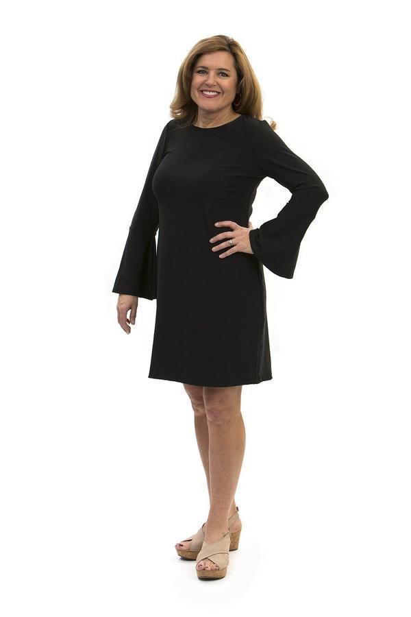 Somerset Dress Black DRESSES Katherine Way Collections Black XS