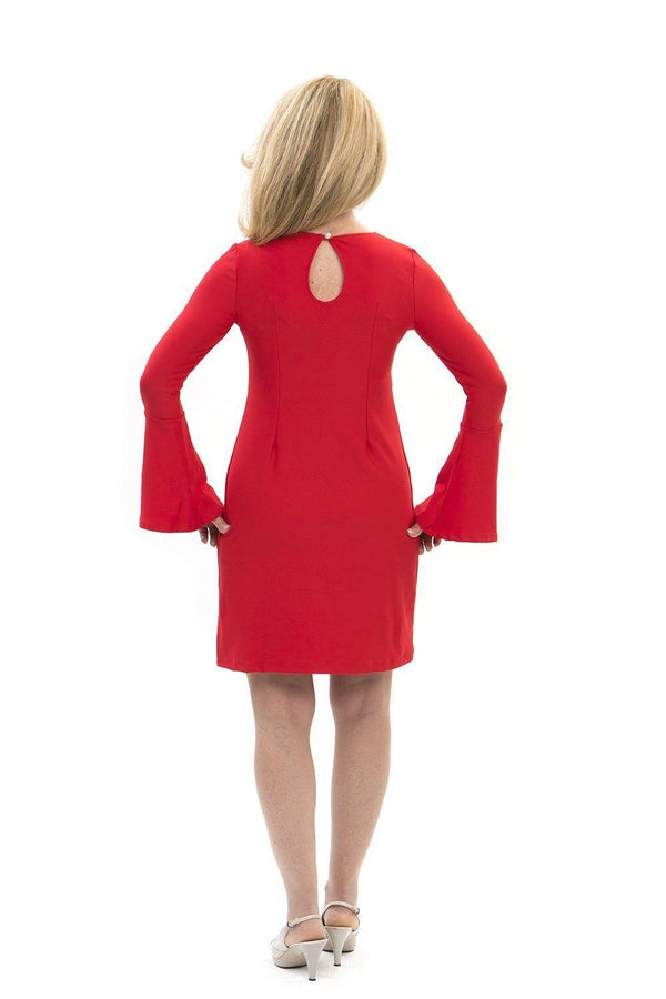 Somerset Dress Red DRESSES Katherine Way Collections