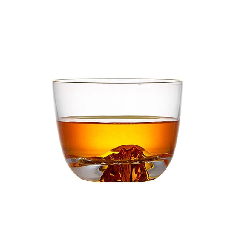 Wide Mouth Whiskey Glass