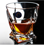Curved Whiskey Glass