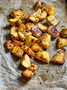 Spice Roasted Plantains