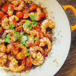 SMOKED PAPRIKA & GARLIC PRAWNS