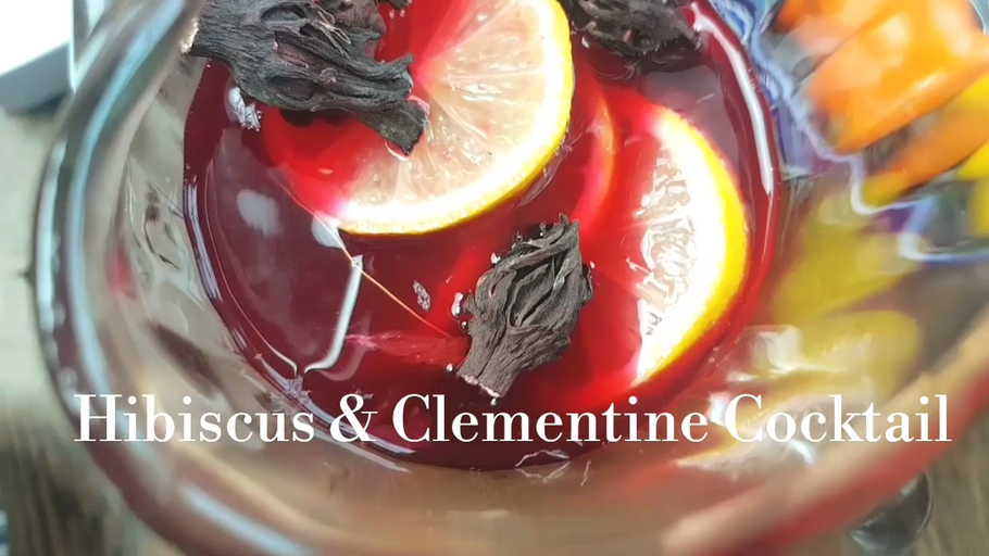 Hibiscus & Clementine Cocktail