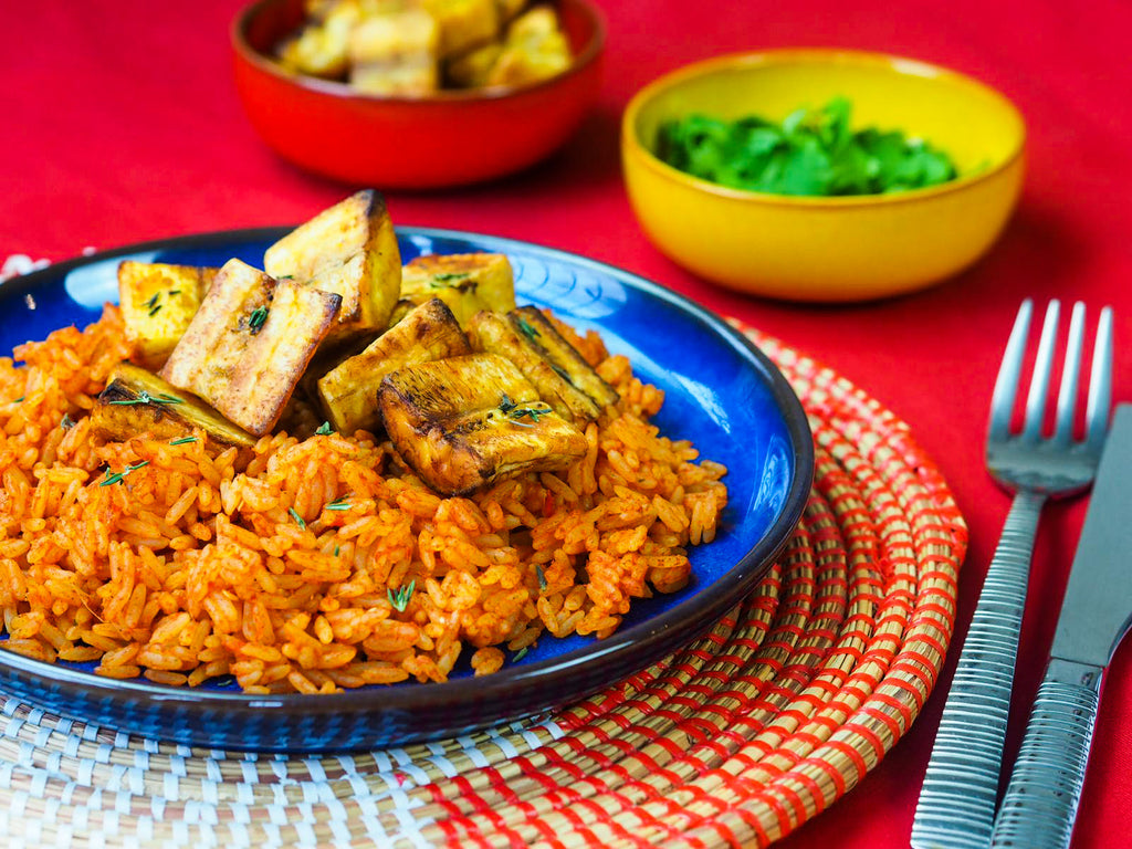 Lerato Jollof rice with Tilda