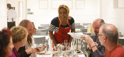 Lerato in Waitrose Cookery School