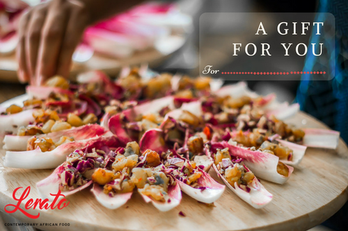 Eastbourne Cookery Class Gift Voucher - Lerato Foods & Naturals