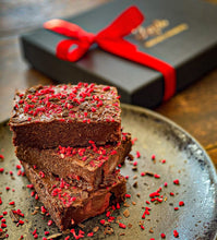 Raspberry Chocolate Truffle Brownies Box of 8