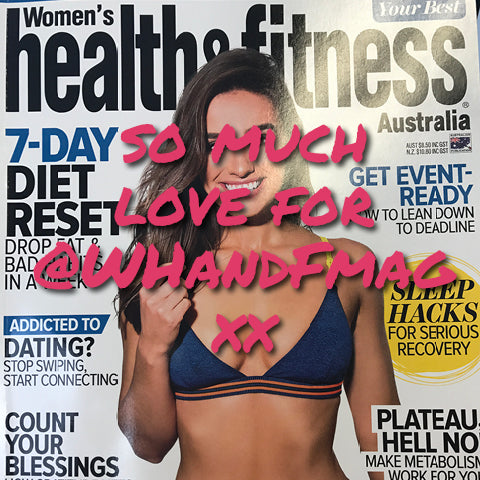 womens health and fitness mag