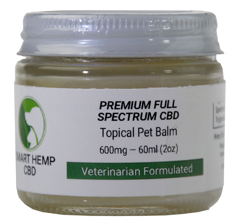 Smart Hemp 2oz Topical Pet Balm