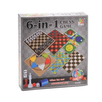 6-In-1 Board Game Toy Set