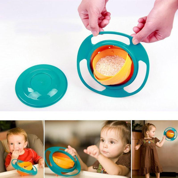 Baby Feeding - Rotate 360º Bowl-OUOH-forgift.online