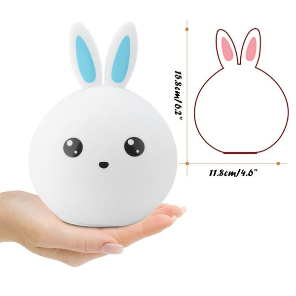 Colorful Rabbit Bunny LED Night Light