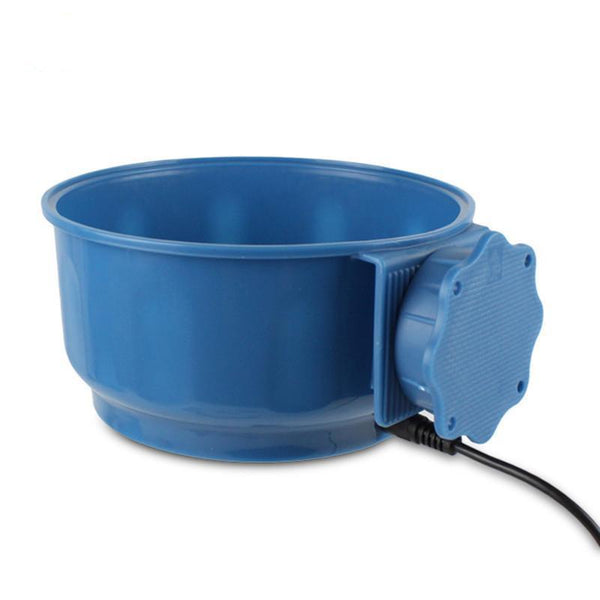 Heated Suspension Water and Pet Feed Cage Bowl-ABEDOE-forgift.online