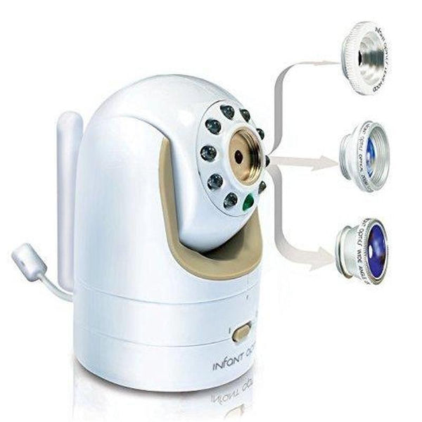 Infant Optics DXR-8 Video Baby Monitor with Interchangeable Optical Lens-Amazon-forgift.online