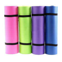Non-Slip Yoga Mat With Carrying Bag