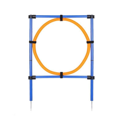 Pet Game Poles and Hoops for Jump Training