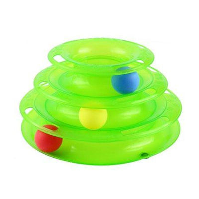 Tower Disk Ball for Cats
