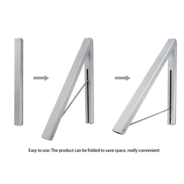 Wall Mount Clothes Rack Hanger