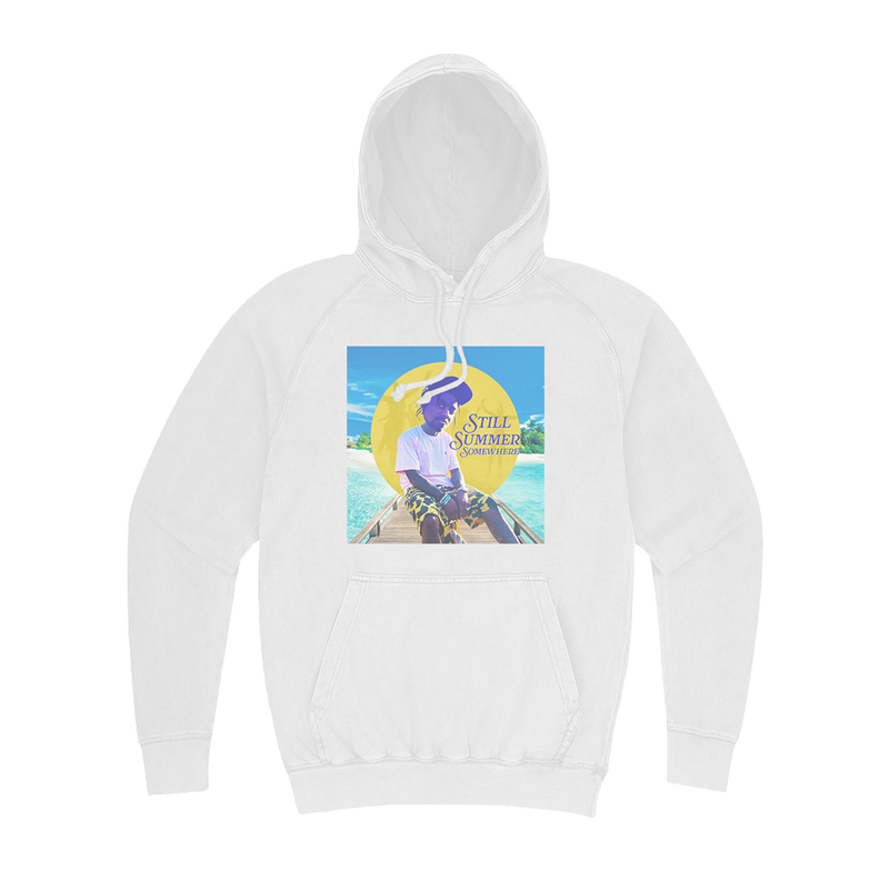 SUMMER FRE$HNESS HOODIE WHITE