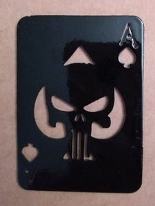 Ace of Spades Punisher Card