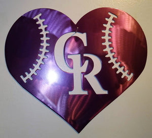 Colorado Rockies Heart