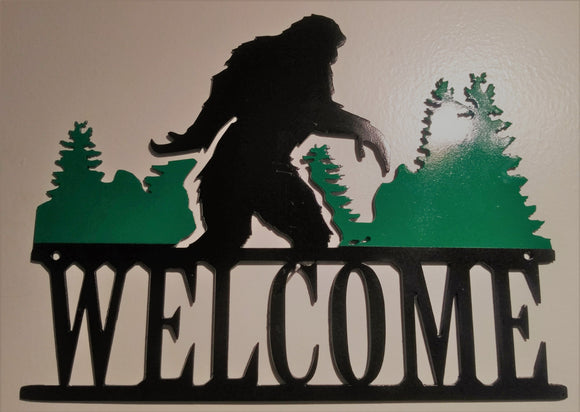 Big Foot Welcome Sign